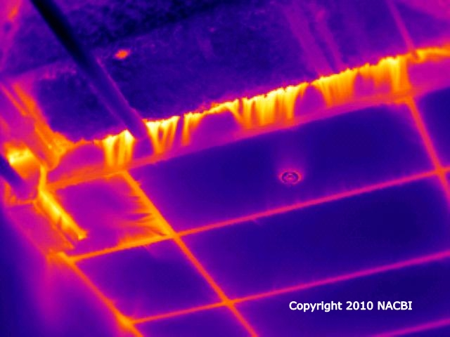 Commercial building heat loss