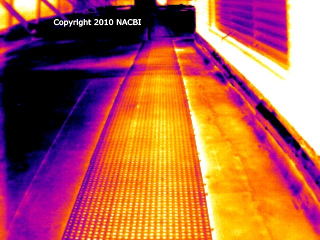 Commercial infrared roof inspection