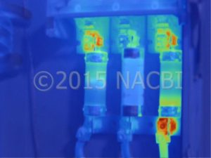Infrared electrical inspetion scan